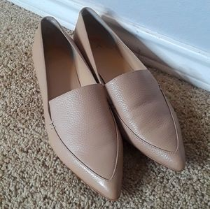 Marc Fisher | Tan Leather Loafer